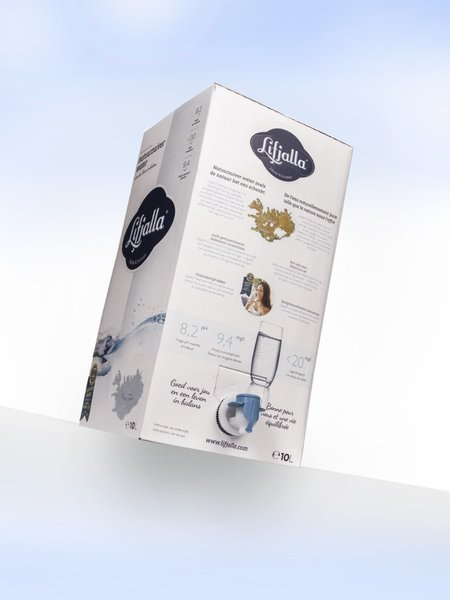 Lifjalla Water in a box 10L pallet